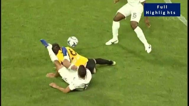Haris Harisis Flagrant Foul to Javier Matilla - Aris vs Atromitos - Full Highlights 18.07.2019