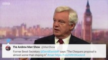 """Former Brexit Secretary David Davis Says_ """"The Chequers Proposal is Almost Worse Than Staying In"""