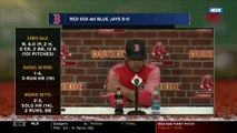Alex Says Mookie Betts' Swing 'In A Good Spot' Over 10-Game Hit Streak