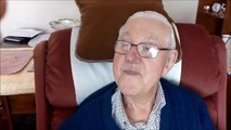 World War Two hero tells of his wartime near escape