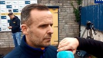 WATCH: Rodney McAree gives his reaction to Coleraine's goalless draw at Ards