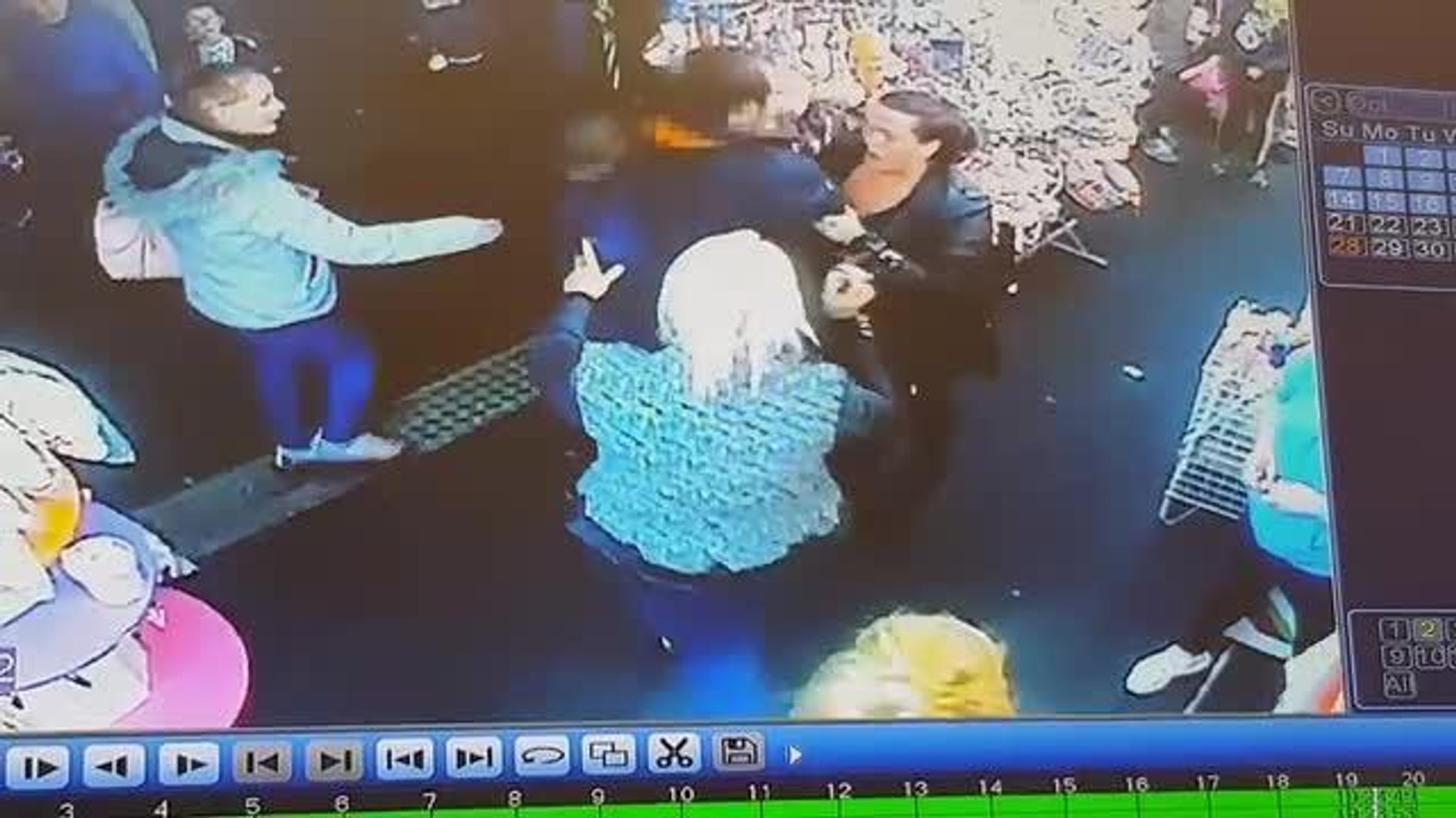 Video of assault at Spends