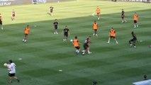 Eden Hazard à l'entraînement avec le Real Madrid
