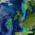 Weather forecast for week beginning Monday 15 October