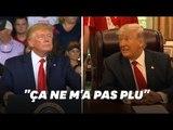 """Donald Trump assure que les slogans racistes scandés pendant son meeting ne lui ont """"pas plu"""""""