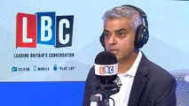 Sadiq Khan attacks Sajid Javid for tweet