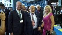 Mission lunaire: Buzz Aldrin appelle à la collaboration internationale
