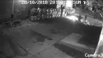Arsonists caught on camera