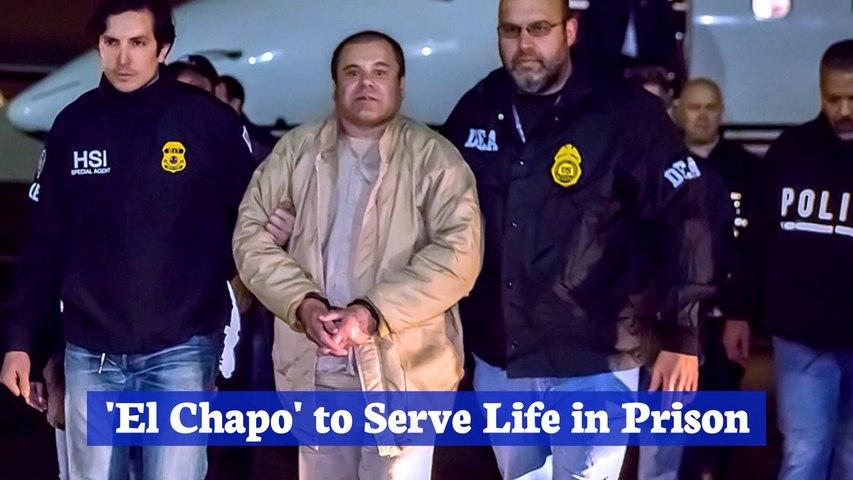 El Chapo Gets A Life Sentence  And A 12 Billion Dollar Fine