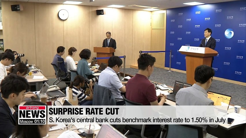 BOK delivers surprise rate cut amid uncertainties, further slashes growth outlook