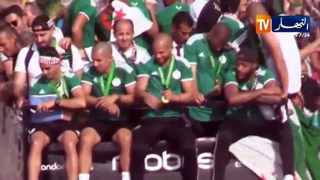 Algeria squad return home as heroes after AFCON victory