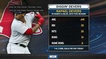 Rafael Devers Destroying Blue Jays In 15 Games Against Toronto This Season