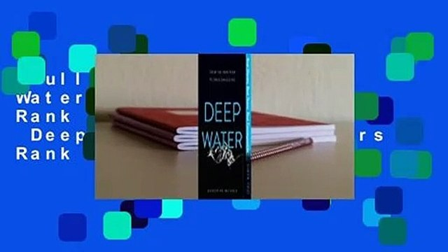 Full version  Deep Water  Best Sellers Rank : #2 Full version  Deep Water  Best Sellers Rank : #3