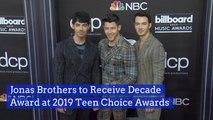 The Jonas Brothers Will Get a Big 'Teen Choice Award'