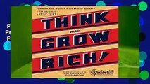 Full E-book  Think and Grow Rich (Official Publication of the Napoleon Hill Foundation)  For Online