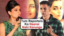 Akshay Kumar TAUNTS Kangana Ranaut In Front Of Media Over Fight With Reporters