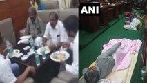 Karnataka Floor Test : இரவு முழுவதும் பேரவையில் தூங்கிய பாஜக உறுப்பினர்கள்