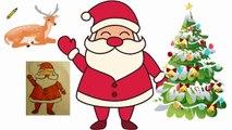 Dessin facile du Père Noël Joyeux Noël Joyeux;)