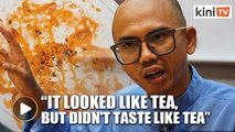Malaysian prison food: 'Soup tastes like pipe water'
