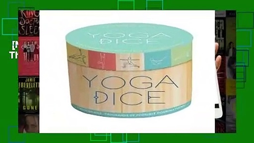 [NEW RELEASES]  Yoga Dice: 7 Wooden Dice, Thousands of Possible Combinations!
