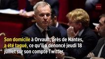 «Escroc on te fera payer» : le domicile de François de Rugy tagué