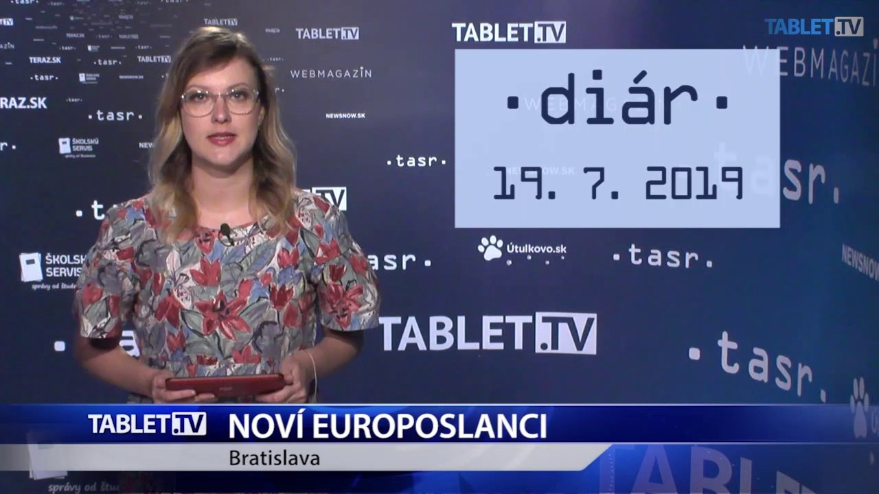 DIÁR: Na stretnutí s novinármi sa predstavia noví slovenskí europoslanci