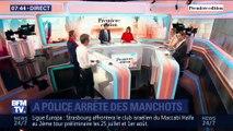 La police arrête des manchots