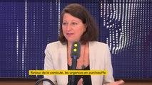 """La nouvelle canicule annoncée pour ces prochains jours sera """"moins longue, moins étendue, moins sévère"""", déclare Agnès Buzyn"""