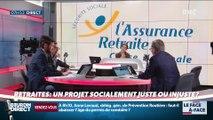 Brunet & Neumann : Retraites, un projet socialement juste ou injuste ? - 19/07