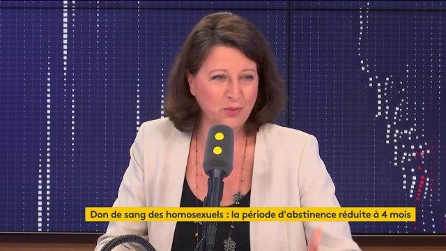 """Don du sang : la ministre de la Santé Agnès Buzyn veut retravailler """"tous les critères d'exclusion, pas seulement sur les homosexuels, mais bien au-delà"""""""