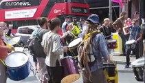 Extinction Rebellion en action à Londres, et ce n'est que le début