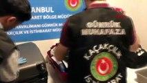İstanbul havalimanı'nda çok sayıda silah parçası ele geçirildi