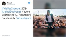 Vieilles Charrues 2019 : Jamel Debbouze « adore la Bretagne »… mais galère pour le reste