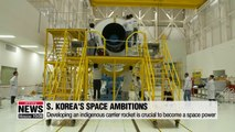 S. Korea to launch first indigenous carrier rocket and multiple satellites in coming years