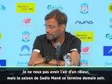 """Liverpool - Klopp inquiet après la saison de """"13 mois"""" de Mané"""