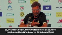 (Subtitled) Klopp surprised by question over his future