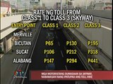 Fewer motorists pass by Skyway after toll hike