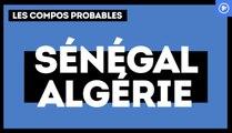 Sénégal - Algérie : les compositions probables