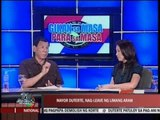 Davao Mayor Sara Duterte takes leave