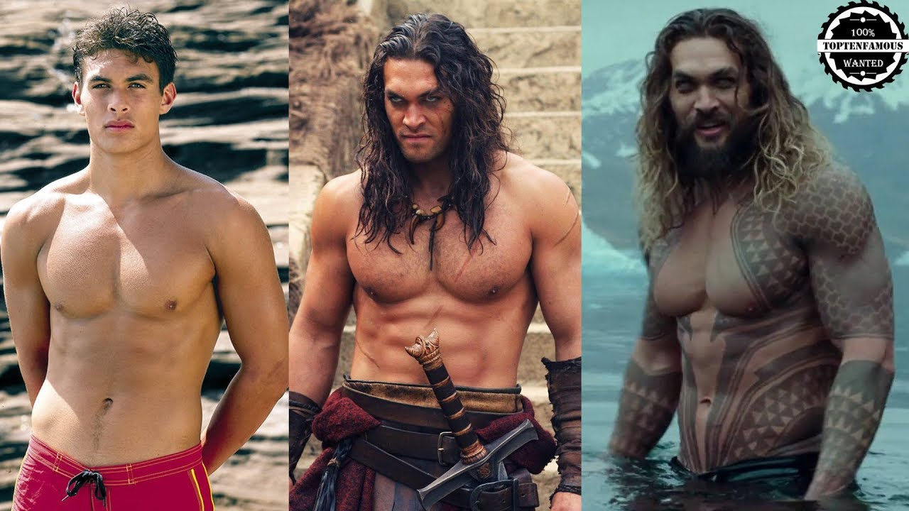 Jason Momoa Transformation - from 3 to 38 Years Old