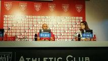 Rueda de Prensa de Ángel Villacampa, Entrenador del Femenino del Athletic.