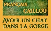 Français caillou / Définition du jour : Avoir un chat dans la gorge