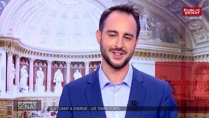 Affaire benalla : le sénat renforce le contrôle des activités privées des collaborateurs de l'élysée - Les matins du Sénat (19/07/2019)