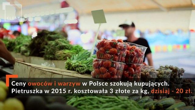 FLESZ: Ceny owoców i warzyw niezmiennie na bardzo wysokim poziomie.