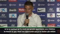 """Atlético - Trippier : """"C'était une opportunité que je ne voulais pas refuser"""""""