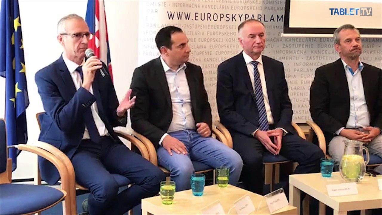 ZÁZNAM: Predstavenie nových europoslancov