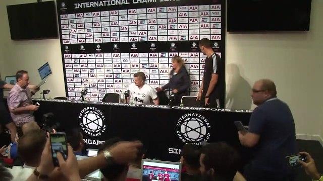 Solskjaer rules Lukaku out for Man Utd ICC match v Inter Milan in Singapore