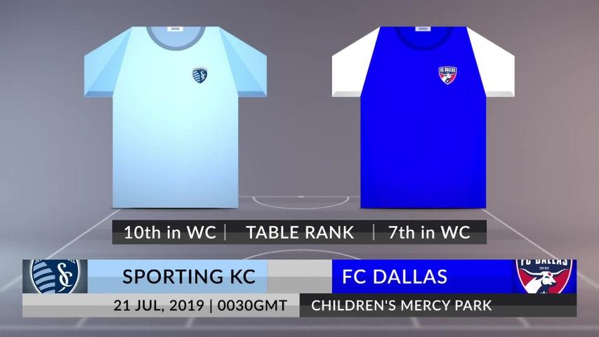 Match Preview: Sporting KC vs FC Dallas on 21/07/2019
