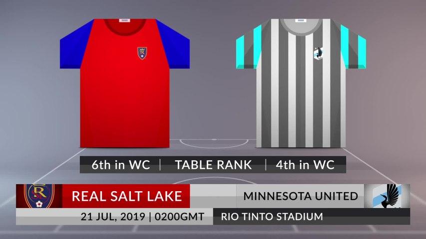 Match Preview: Real Salt Lake vs Minnesota United on 21/07/2019