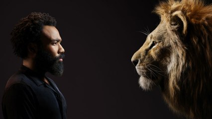 Meet Up Between 'The Lion King' Stars and their Digital Counterparts